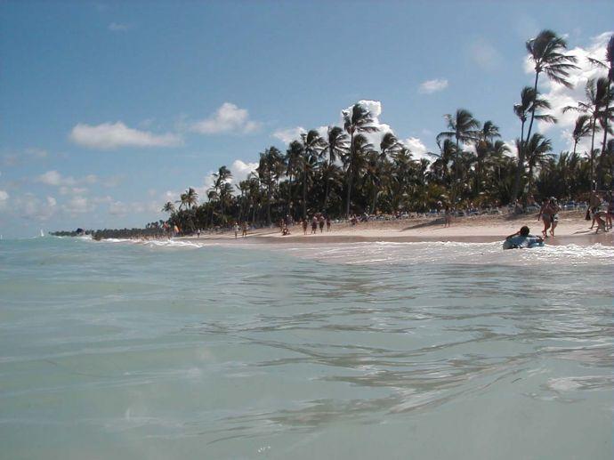 RIU Naiboa, Strand