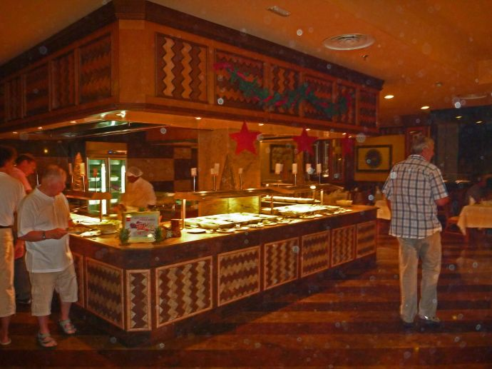 Riu Karamboa - Kochstelle