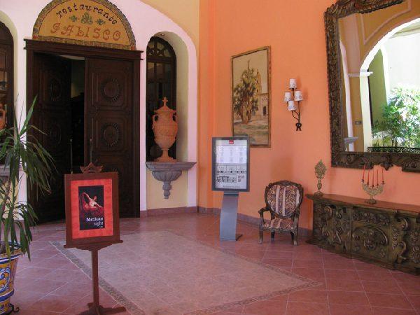 RIU Tequila, Eingang zum Restaurant