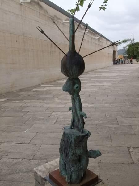 Besuch des Miro Museum in Cala Major, Mallorca