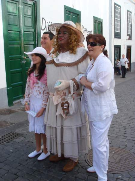 Dia de los Indianos, Santa Cruz de La Palma, 2010