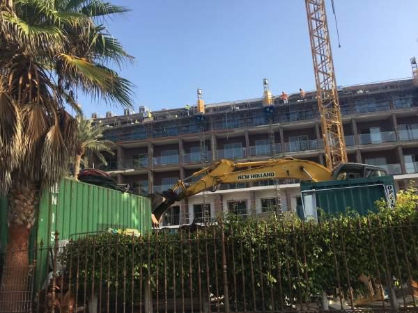 RIU Palace Oasis, Umbauphase 04.09.18
