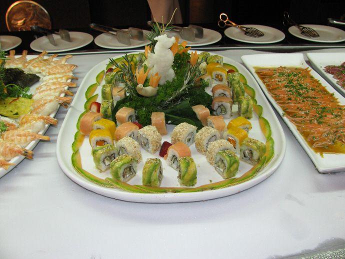 RIU Tequila, Vorspeisen im Asia-Restaurant