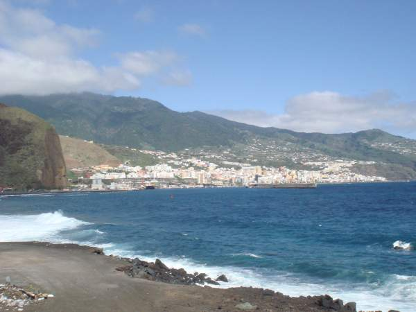 Spaziergang von Los Cancajos nach Santa Cruz