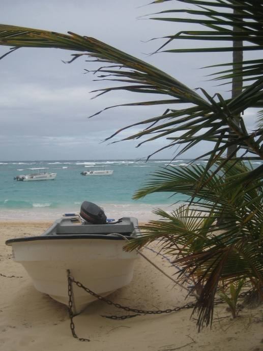 und .. DAS BOOT ... Bereich DomRep Punta Cana