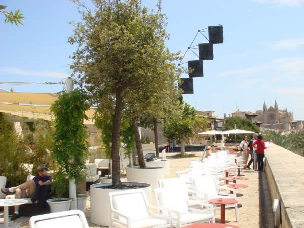 Restaurant Cafe SI Es Baluard, Palma de Mallorca 2014