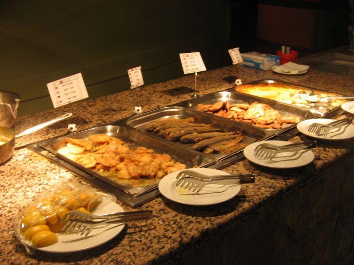 RIU Kaya - Abendbüffett Fischbratestelle