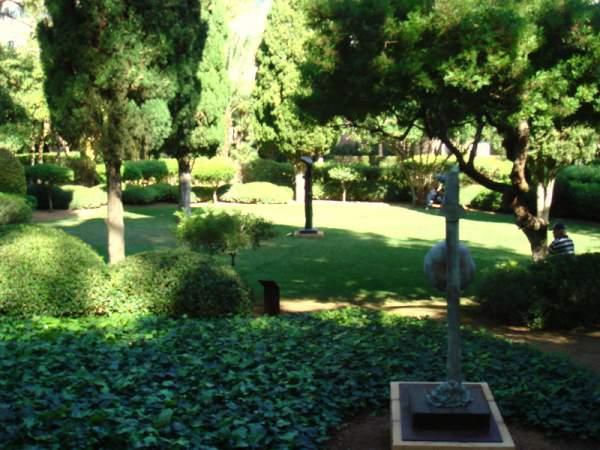 Besuch des Gartens vom Marivent Palast, Mallorca