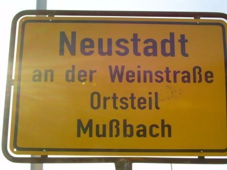 Mußbach ( OT von Neustadt ) Deutsche Weinstrasse
