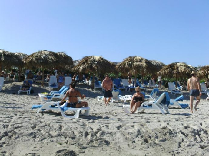 RIU Varadero - Strandgymnastik