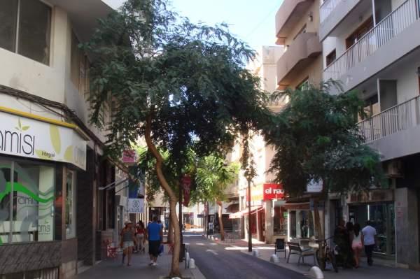 Einkaufsstrasse in Arrecife / Lanzarote