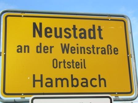 Hambach ( OT von Neustadt ) Deutsche Weinstrasse