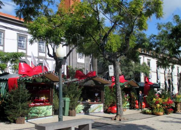 Stadt Funchal auf Madeira