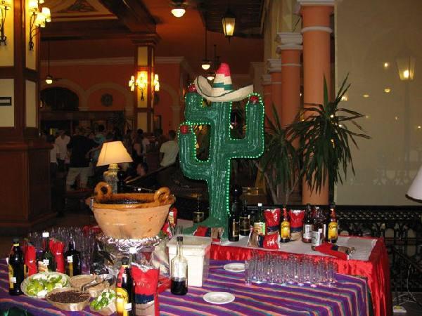 RIU Tequila, Aperetif vor dem Abendessen