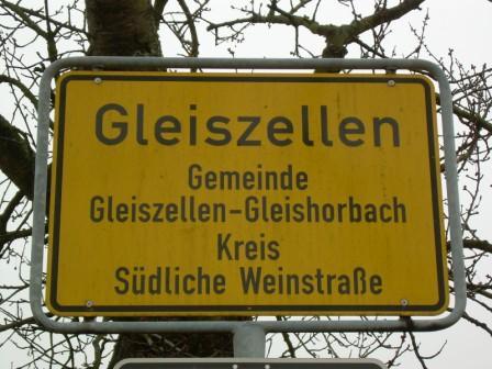 Gleiszellen-Gleishorbach, Deutsche Weinstrasse
