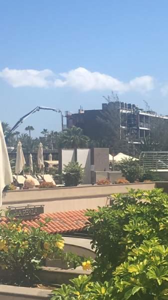 RIU Palace Oasis, Umbauphase 10.09.18
