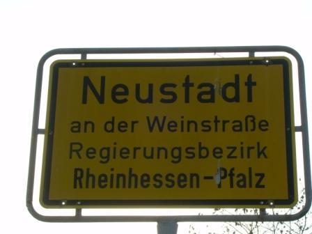 Neustadt  an der Weinstrasse ( Deutsche Weinstrasse )