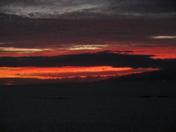 Sonnenuntergang Teneriffa / La Gomera