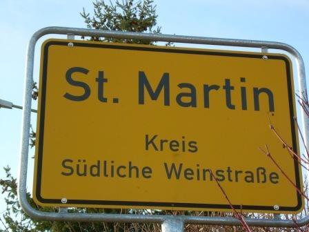 St. Martin, Deutsche Weinstrasse