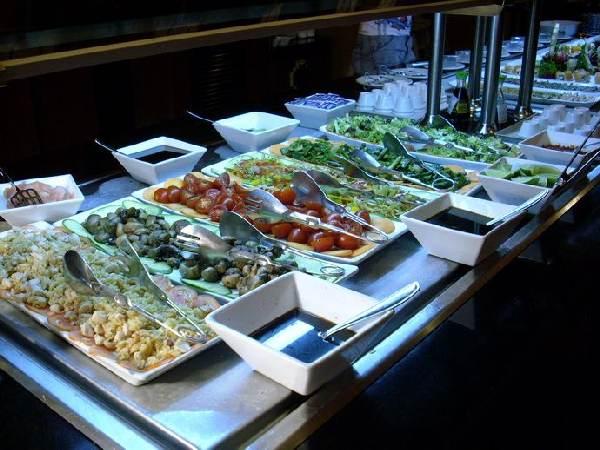 RIU Tequila, Buffet im Chinarestaurant