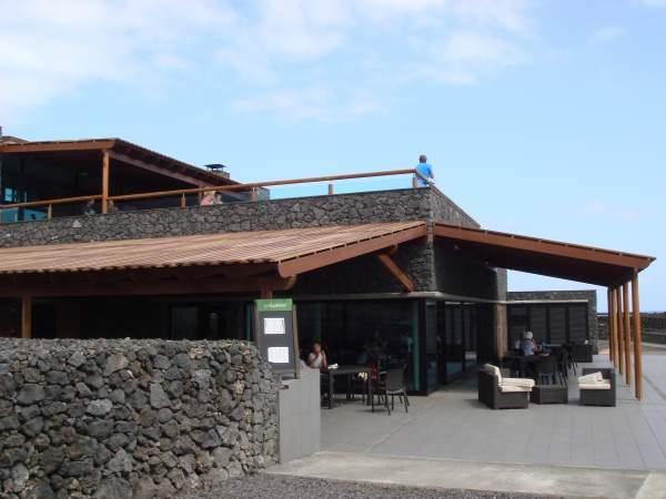 Saline und Restaurant, Fuencaliente / La Palma