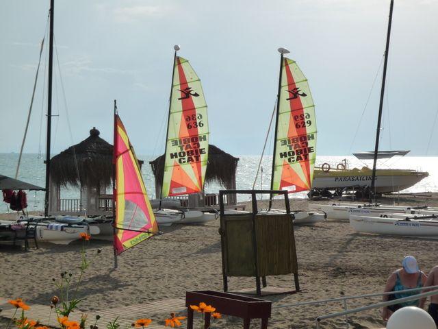 Club Riu Kaya, Strand
