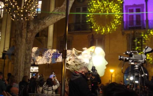 Reyes Magos in Palma de Mallorca am 05.01.2017