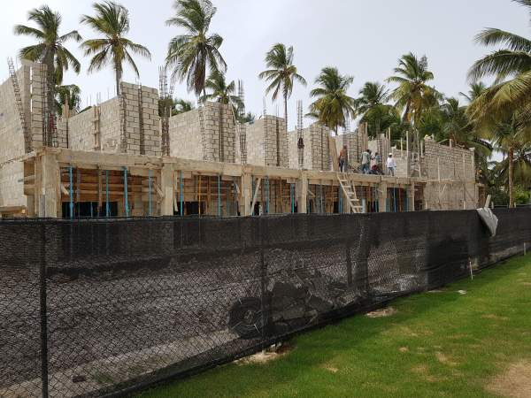 Riu Bambu - Mai 2017 - Baustelle