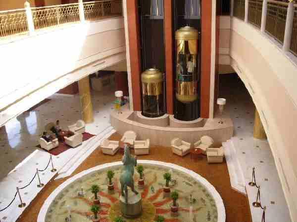 RIU Palace Hammamet Marhaba, Empfangsbereich