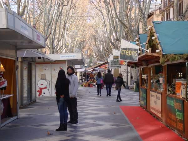 Weihnachtsmarkt Palma de Mallorca 12.2016