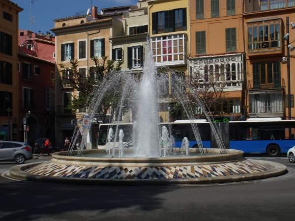 Plaza del la Reina Palma de Mallorca