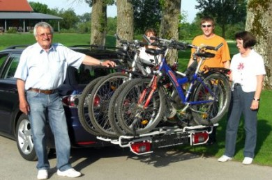 Fahrradheckträgern