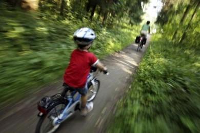 Wenn die Kleinen beim Radeln mithalten, haben sie allen Grund, stolz zu sein.