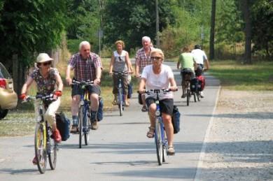 In der Gruppe machen Radreisen oft am meisten Spaß.