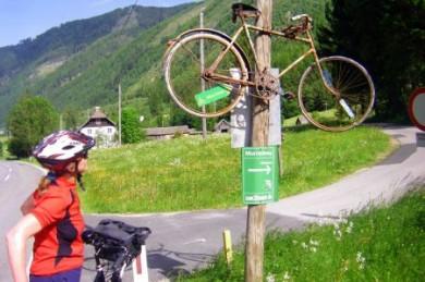 Geheimtipp für Genussradler: Auf dem Mur-Radweg geht es meist bergab - vom Salzburger Land bis in die Thermenregion der Südsteiermark.