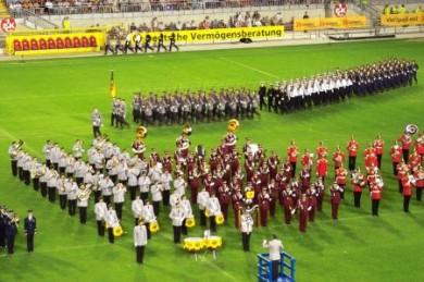 Bereits seit 1965 findet das Nato-Musikfestival auf dem Betzenberg statt.