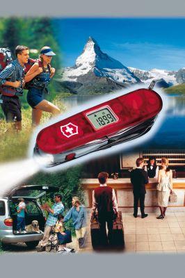 Das gute alte Taschenmesser kann im Urlaub viele andere Helfer und Werkzeuge ersetzen: Von der integrierten Taschenlampe über den Schraubendreher bis zum Korkenzieher.