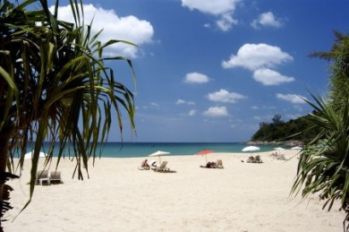 An den Traumstränden von Phuket ist es leicht, sich zu erholen.