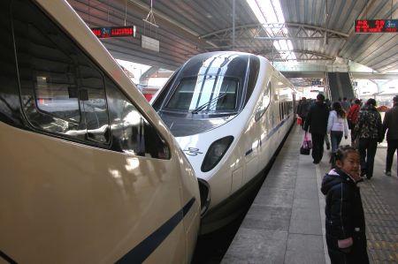 Zugreise in China