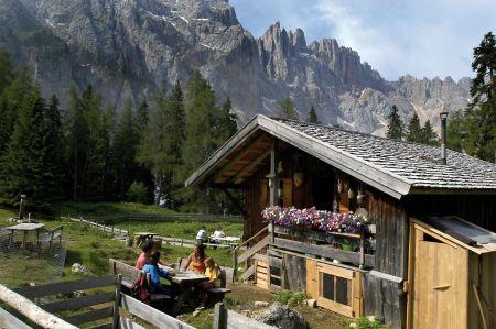 Berghütte Welschnofen