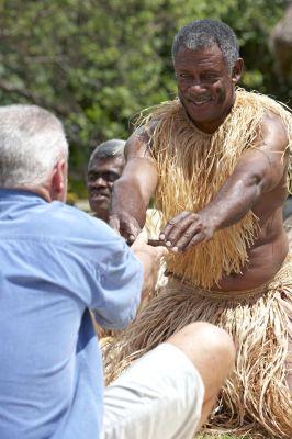Fiji-Urlauber