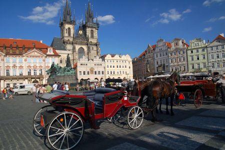 Kutschfahrt in Prag