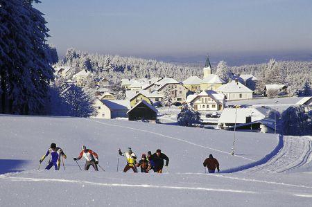 Waldviertel im Winter