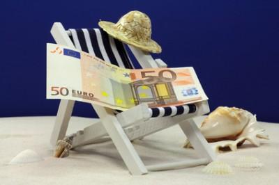 50 euro auf liege