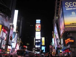 times-square bei Nacht